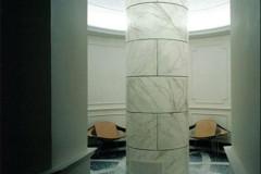 Pavimento in mosaico e marmo Statuarietto