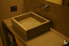 Particolare lavabo in Pietra Du Luberon