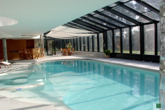 Vista complessiva piscina coperta