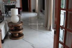 Pavimentazione in marmo Bianco Statuario