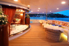 Poppa dello yacht Xanadu