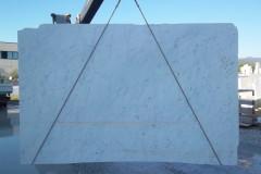Lastre in marmo Bianco Carrara C - 1