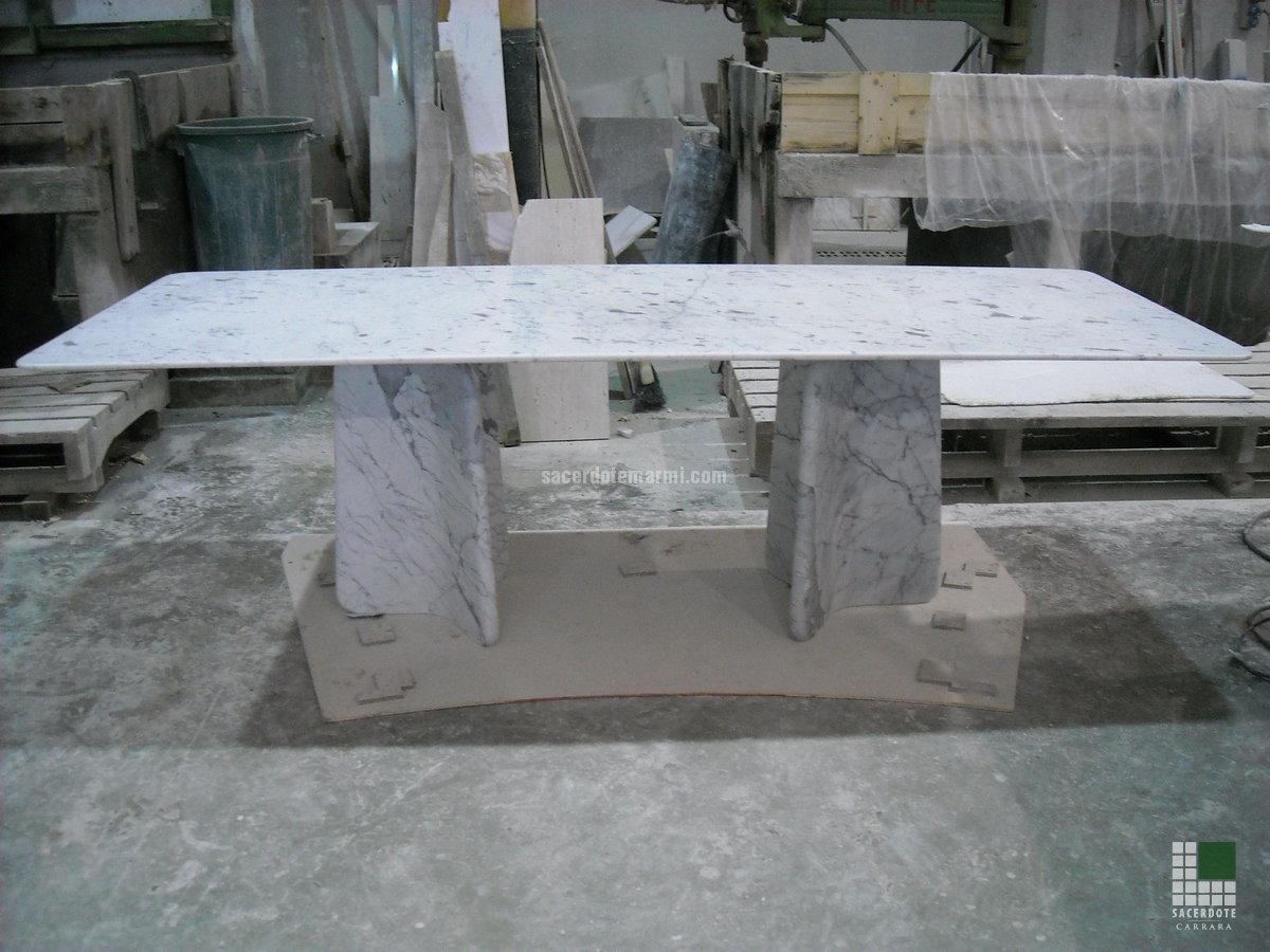 Eccezionale Camini e tavoli in marmo - SACERDOTE MARMI - Carrara - Lavorazione  CB57