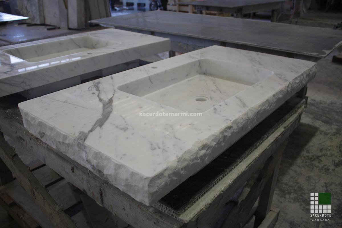 Lavabos En Marbre Sacerdote Marmi Carrara Marbre Italien