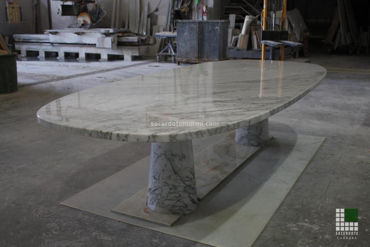Top Camini e tavoli in marmo - SACERDOTE MARMI - Carrara - Lavorazione  ZF44
