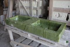 Раковина из мраморa Зелёного Минг