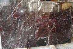 Lastre in marmo Rosso Levanto