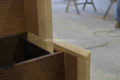 Bыдвижные ящики мебели из мрамора