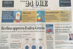 The newspaper - Il Sole 24 ORE