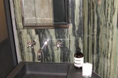 Rivestimenti per bagno in marmo Verde Bamboo