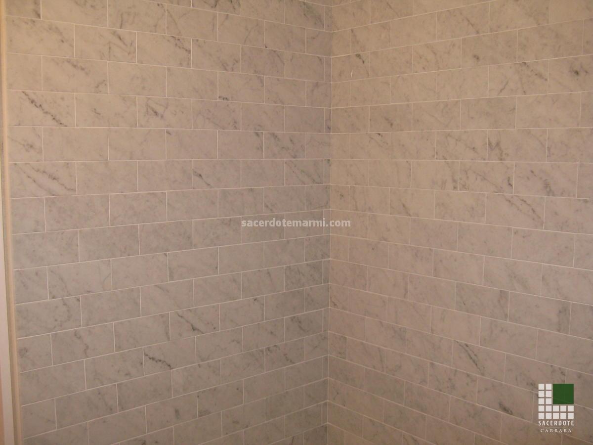 Bagni per residenza New York - SACERDOTE MARMI - Carrara - Lavorazione marmo