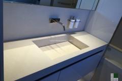 Lavabo realizzato in Pietra Thala beige