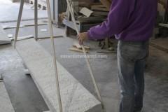 Scalini in marmo Bianco Carrara