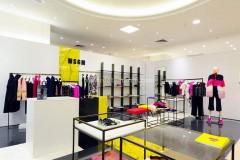 Statuario pigmentato per Boutique a Singapore