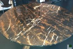Tavolo in marmo Black & Gold