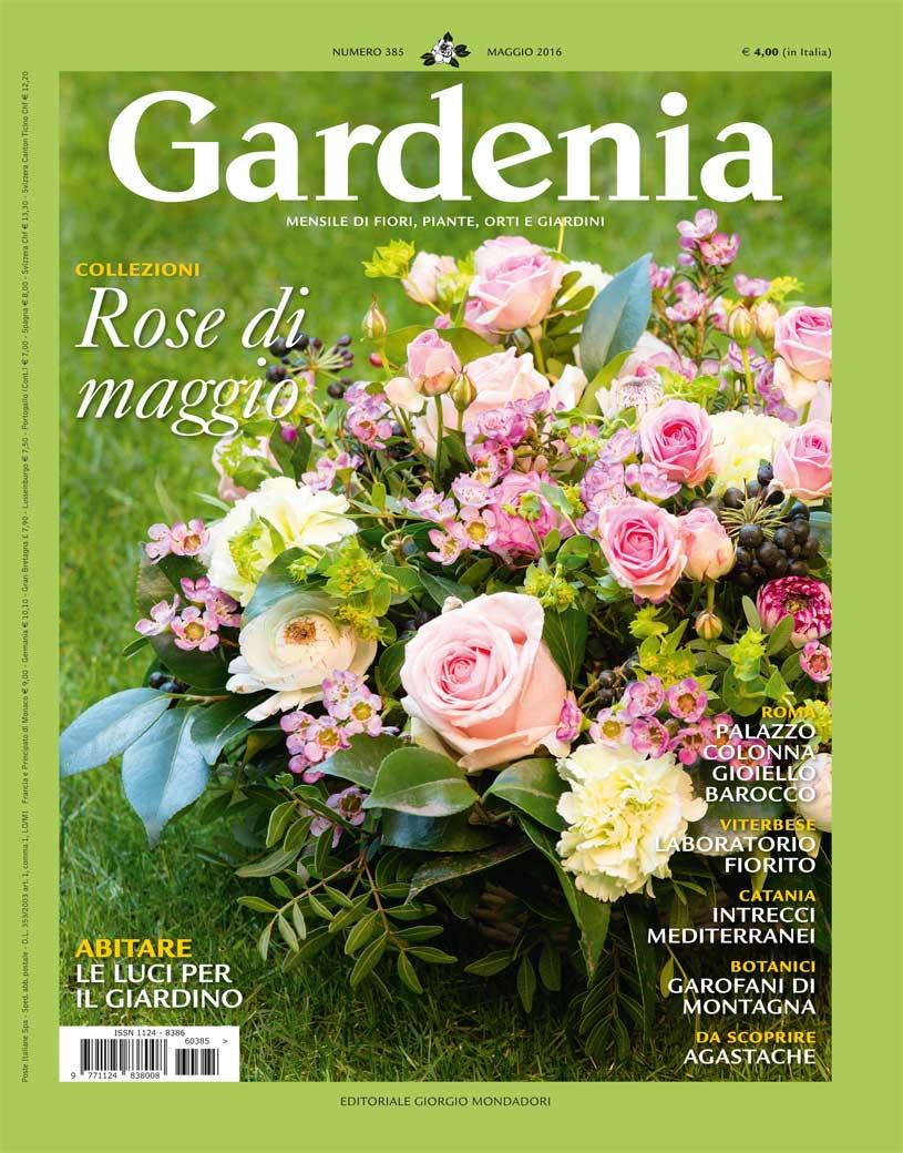 Couverture du magazine GARDENIA - mai 2016